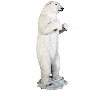Садовая фигура Белый медведь FS-150