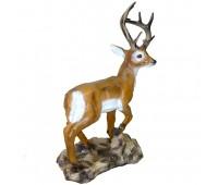 Новогодняя скульптура  Благородный олень