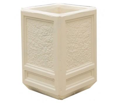 Урна бетонная четырёхгранная UB-022