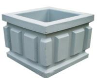Урна бетонная четырёхгранная UB-025