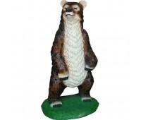 Новогодняя скульптура Бурый медведь (боль)