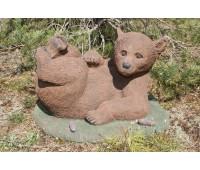 """Садовая скульптура """"Медведь"""" (лежащий) FS-052"""