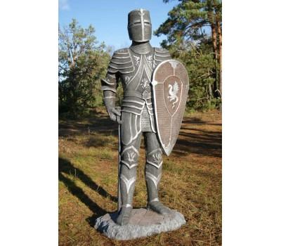 """Садовая скульптура """"Рыцарь"""" (щит вверху) FS-061"""
