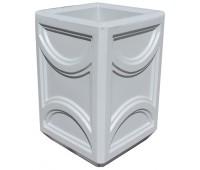 Урна бетонная четырёхгранная UB-027