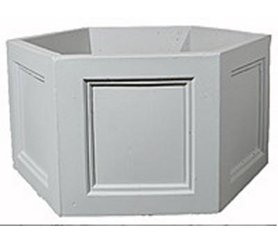 Вазон бетонный шестигранный V-004